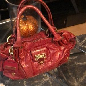 Juicy Couture Leather Red HandBag